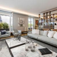 Puertas abiertas: soñando con vivir en este apartamento con vistas a la Torre Eiffel en París