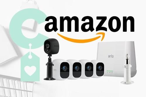 Amazon tiene rebajada esta semana la gama Arlo Pro de Netgear para los que quieren montar un sistema de vídeo vigilancia