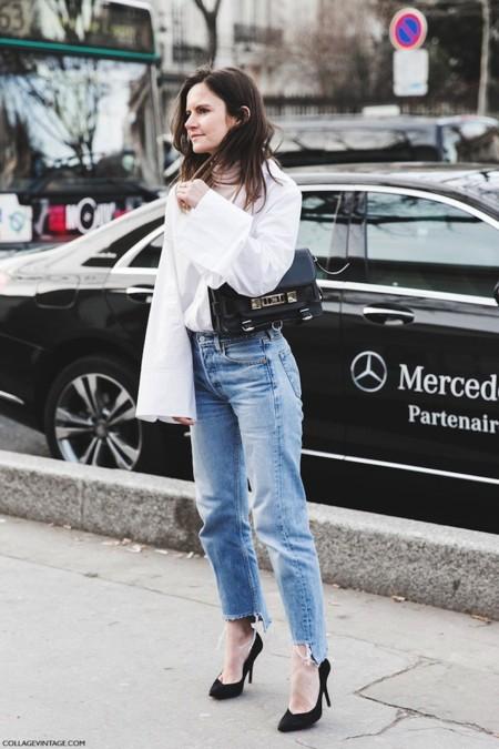 Paris Fashion Week Fall Winter 2015 Street Style Pfw Levis Proenza Martha 1 790x1185