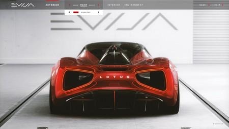 Lotus Evija Sera Completamente Configurable 5