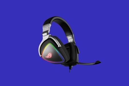Estos auriculares gaming de Asus ROG con cable y RGB están en oferta por poco más de 150 euros en Amazon