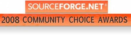 Lista de ganadores de los premios Sourceforge 2008