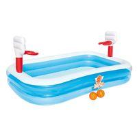 Por 29,95 euros puedes tener una piscina hinchable con canastas Bestway gracias a Amazon. Envío gratis