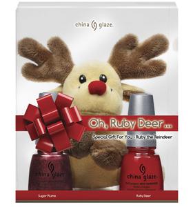 Los sets de regalo de China Glaze para la Navidad 2010