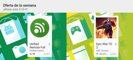 Unified Remote y Epic War TD 2 a 0,10 € y los juegos de Minecraft con hasta el 90% de descuento