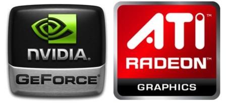 NVidia ATi logos