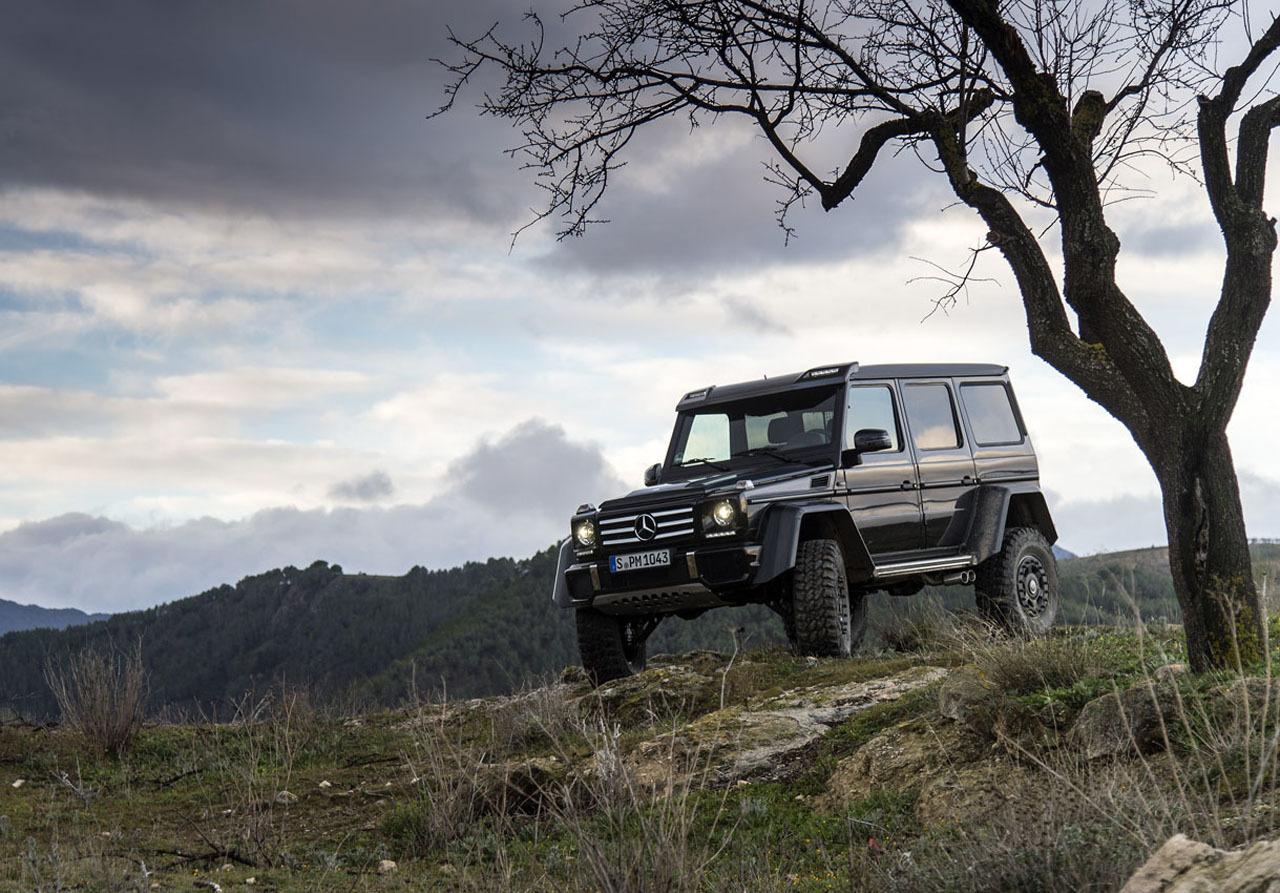 Foto de Mercedes-Benz G 500 4x4², toma de contacto (20/127)