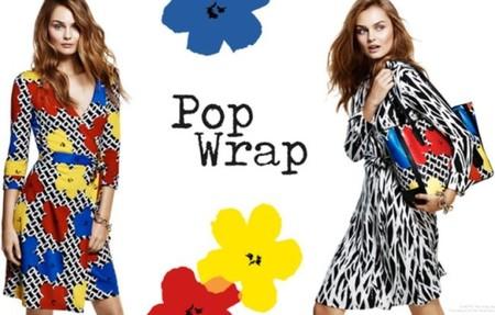 "Diane von Furstenberg celebra el 40 aniversario de su famoso ""wrap dress"""