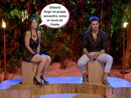 Manuel pide irse de 'La Isla de las Tentaciones 3' con Fiama tras su hoguera de confrontación con Lucía: Esta ha sido la respuesta de la tentadora
