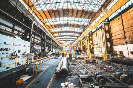 Imagen de una planta de producción