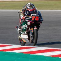 Albert Arenas domina las dos sesiones de entrenamientos de Moto3 en Misano