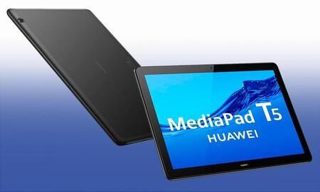 Más barata todavía: los días sin IVA de MediaMarkt te dejan la Huawei MediaPad T5 por sólo 123 euros