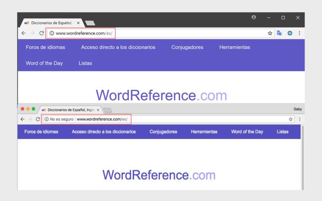 Ahora sí, Chrome ya marca todos los sitios HTTP como 'no seguros'