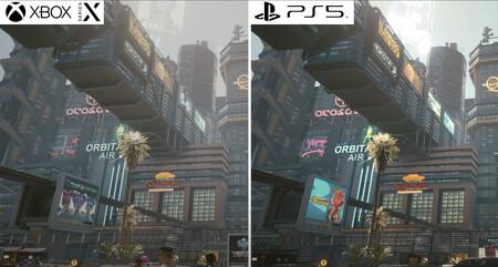 Cyberpunk 2077: primeras comparativas con las versiones de PC, PS4, PS5, Xbox One y Xbox Series X frente a frente