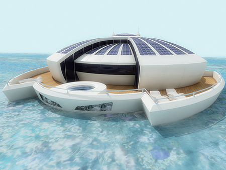 Solar Floating Resort, disfruta de la naturaleza en estado puro