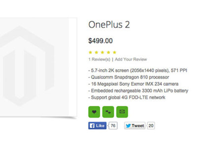 No esperes en el OnePlus 2 el genial precio del modelo original