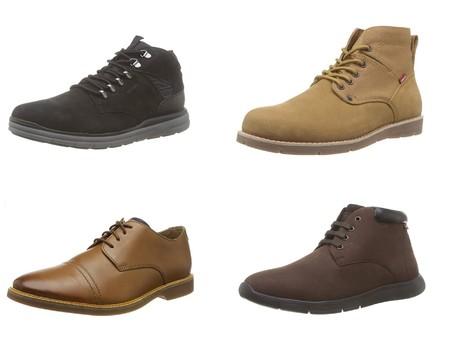 Chollos en tallas sueltas de zapatos y botas para hombre de marcas como Geox, Levi's o Clarks disponibles en Amazon
