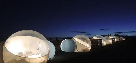 Este increíble hotel mexicano te dejará ver las estrellas como nunca antes: dentro de burbujas con vista al cielo