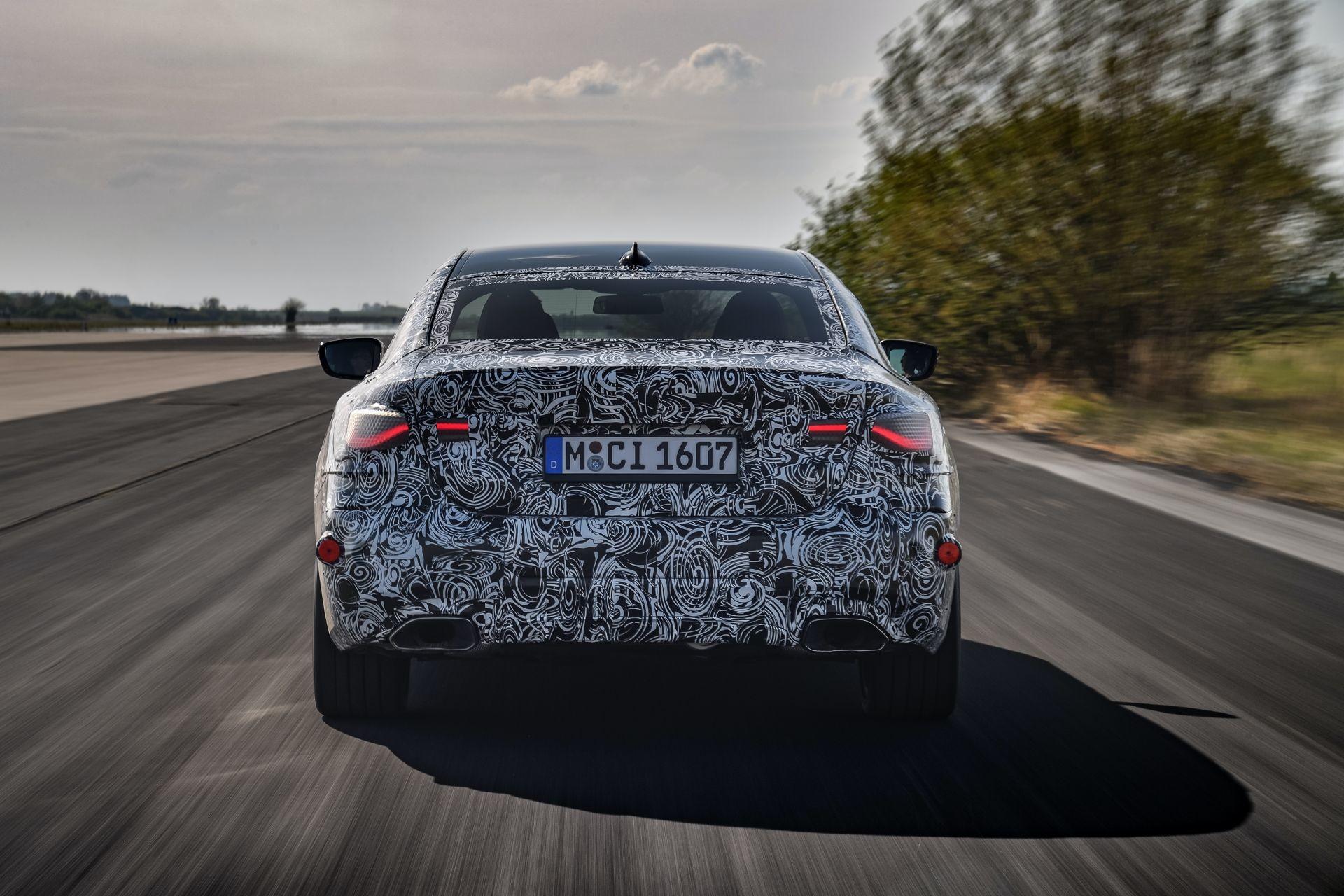 Foto de BMW Serie 4 2021 (fotos espía) (20/38)