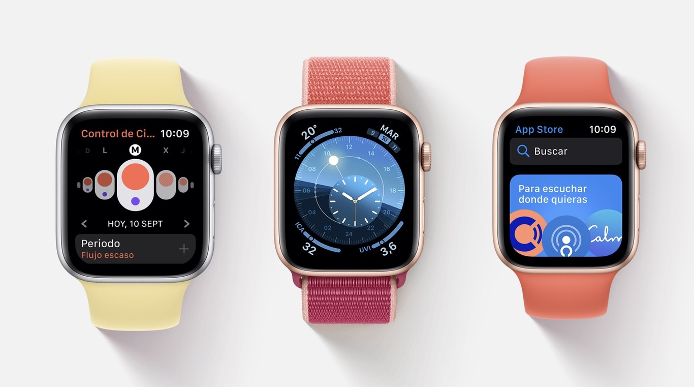 watchOS 6 ya disponible para Apple Watch Series 3 y Series 4: estas son todas las novedades