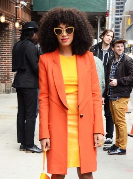"""Solange Knowles y su """"know how"""" del riesgo en el vestir"""
