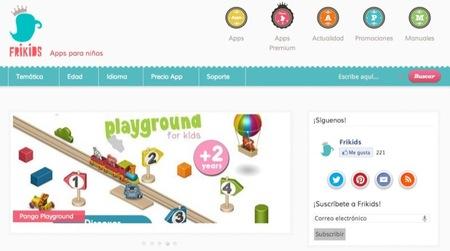 En Frikids analizan las aplicaciones para los niños que se pueden utilizar en los dispositivos móviles de Apple