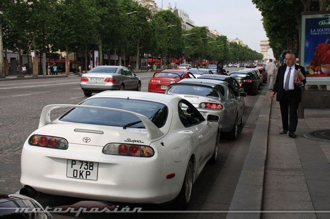 Toyota Supra Biturbo París