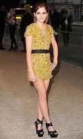 Emma Watson, espléndida en la semana de la moda de Londres