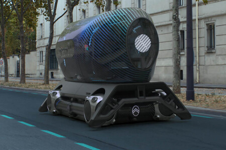 Este futurista Citroën eléctrico, autónomo y modular puede convertirse en habitación de hotel, taxi o vehículo de reparto