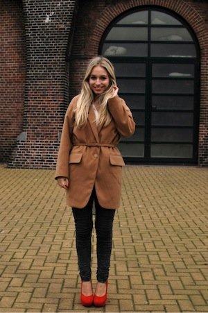 yara camel coat