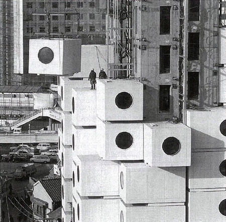 Nakagin Capsule Tower - 3