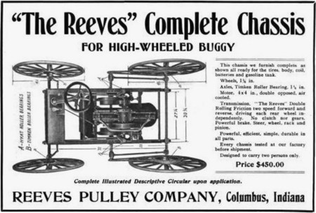 Reeves Motocycle Chassis