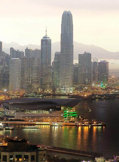 Foto dinámica de Hong Kong