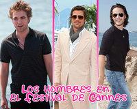 Los hombres en el Festival de Cannes