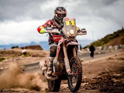 ¡La remontada continúa! Tercera victoria para Joan Barreda en el Dakar 2018 pese a una fortísima caída