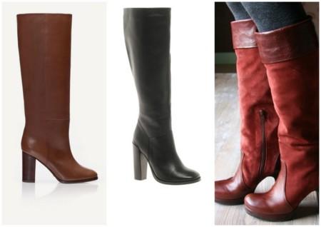 cf47b7ea90 Las botas con tacón quedan ideales para cualquier look diario o un poco más  de arreglar. Combínalas con una falda tubo o un vestido de lana y tendrás  éxito ...
