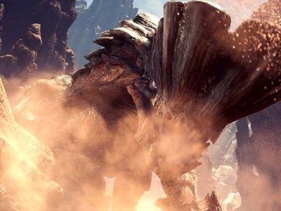 La zona de Wildspire Waste y los pasos básicos de Monster Hunter World en sus dos nuevos vídeos