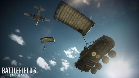Vibrante tráiler de lanzamiento de 'Battlefield 3: End Game'