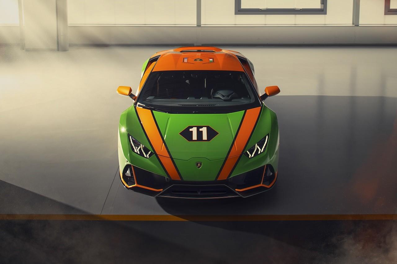 Lamborghini Aventador SVJ Roadster 63 y Huracán EVO GT