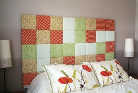 Hazlo tú mismo: un cabecero de patchwork