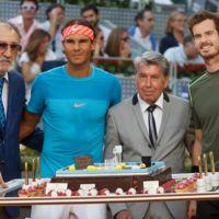 Fin de semana de celebrities en el tenis, entre peloteos y redes sociales