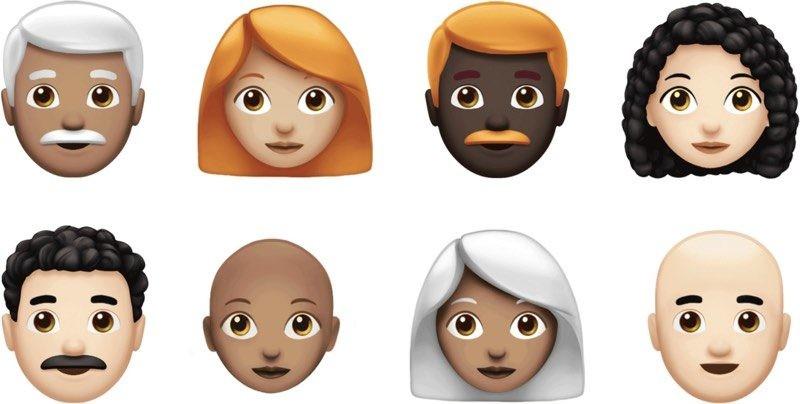 Estos son los nuevos emojis que llegarán con la próxima actualización de iOS 12.1