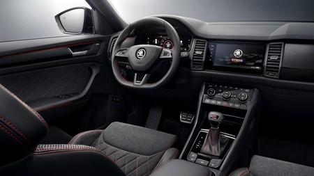 Škoda Kodiaq RS imágenes filtradas