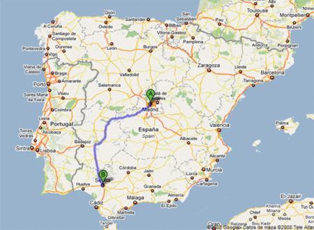 Ruta Madrid Sevilla