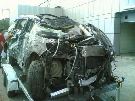 Audi Q7 siniestro total