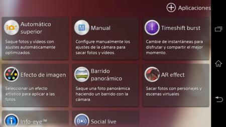 modo manual Xperiaz1