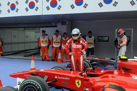 GP de Corea del Sur de Fórmula 1: Una locura de carrera culminada con victoria de Fernando Alonso y líder del mundial