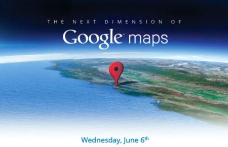 """Google presentará """"la próxima dimensión de Google Maps"""" el 6 de junio"""