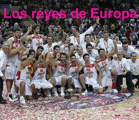 EL baloncesto español reina en Europa