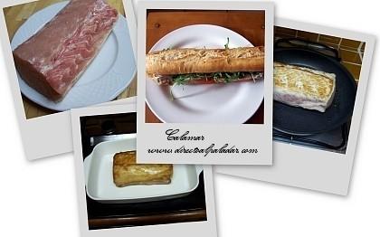 Directo al Paladar | Bocadillo de carne fría, preparación